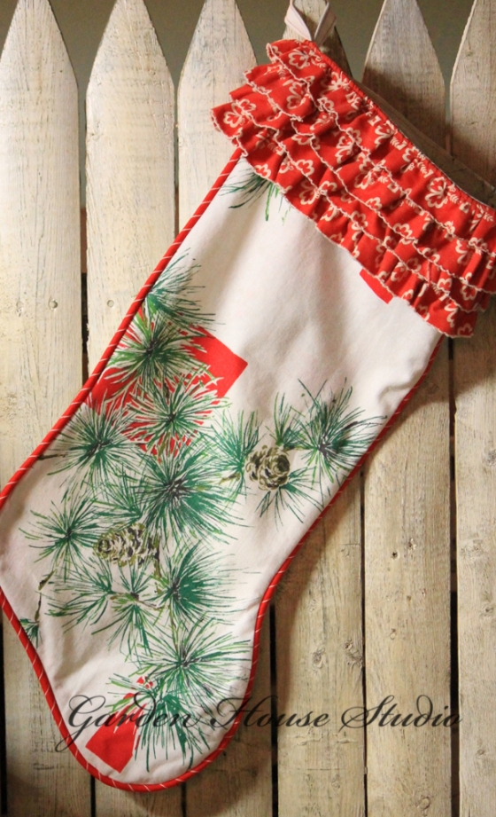 Vintage-Fabric-Stocking